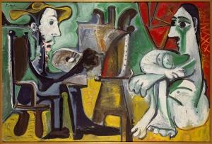 Picasso-Il-pitttore-e-la-modella