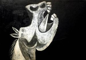 cavallo - schizzo - picasso
