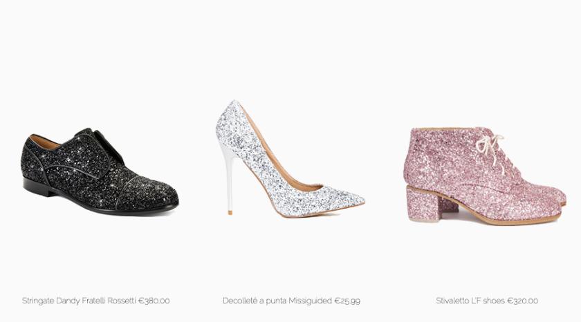 scarpeglitter